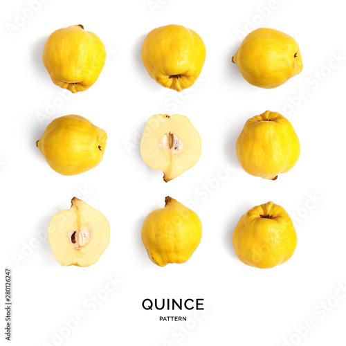 Photographie Seamless pattern with quince