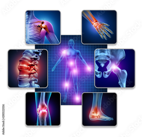 Photo Human Body Joint Pain