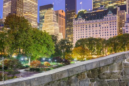 Central Park, New York City Autumn Fototapeta
