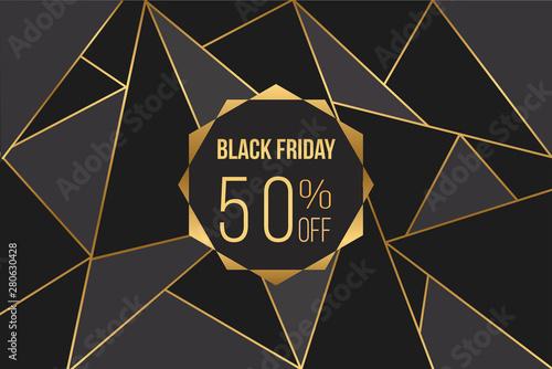 black friday 50% off Fototapeta