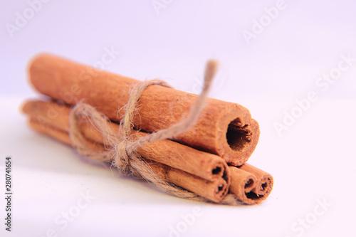 Fényképezés Cinnamon is an aromatic spice