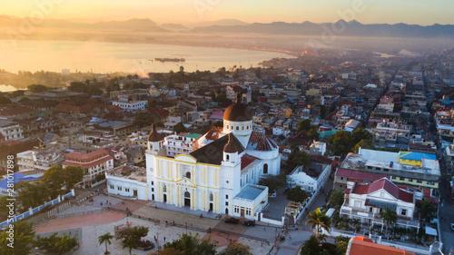Fotografie, Obraz Morning at the Cathédrale Notre-Dame de l'Assomption in Cap-Haitien, Haiti