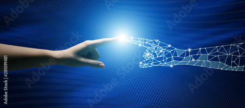 Connection Between People And Artificial Intelligence Technology