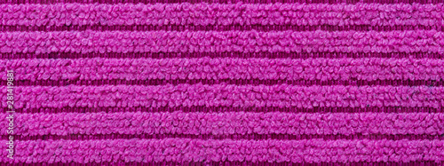 texture terry soft pink soft towel for background, banner