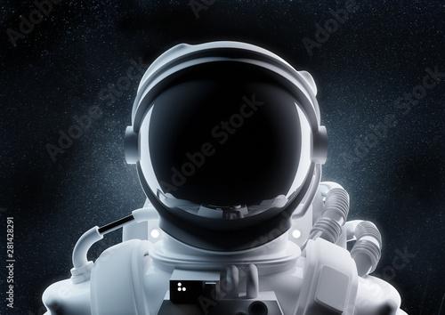 Close Up Of An Astronaut Helmet Fototapeta