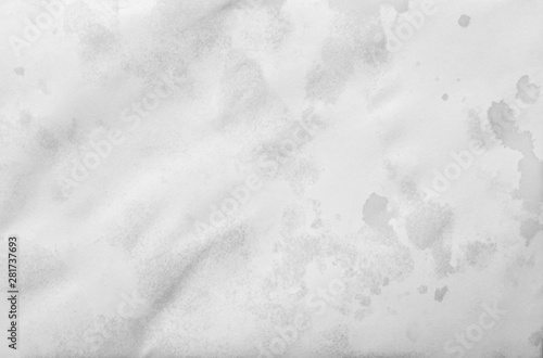 wet old white paper texture background Fotobehang