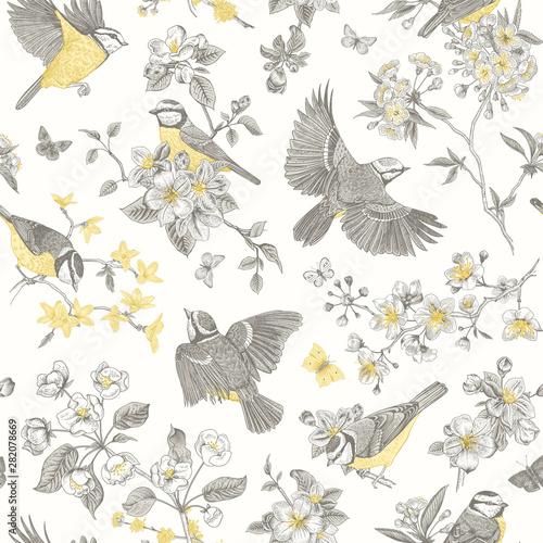 Wallpaper Mural Seamless pattern