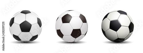 Obraz na płótnie Soccer ball, football – for stoc