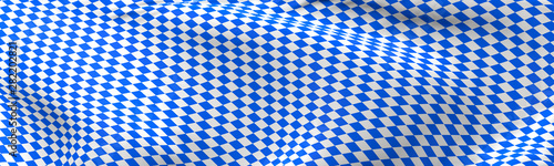 Photographie Bavarian flag using as background