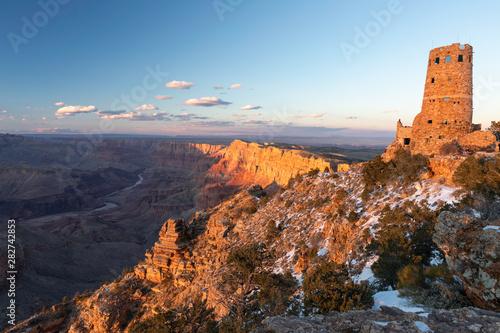 Wallpaper Mural Grand Canyon Desert View Sunset