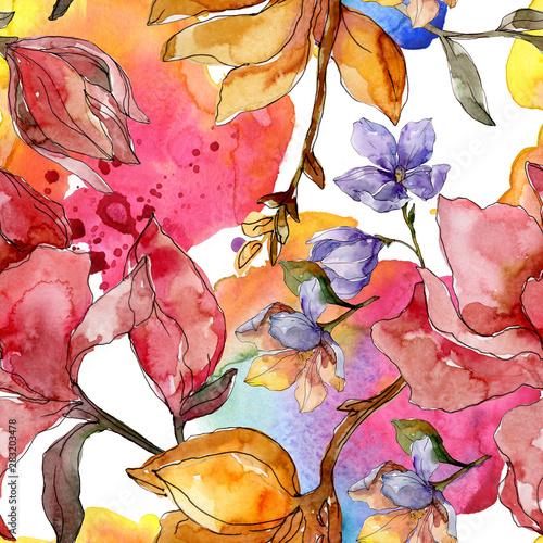 Fotomural Camelia floral botanical flowers