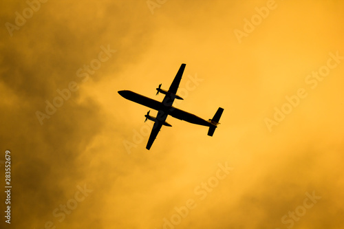 Fotografie, Tablou Bombardier Q400 NextGen Of Nokair.