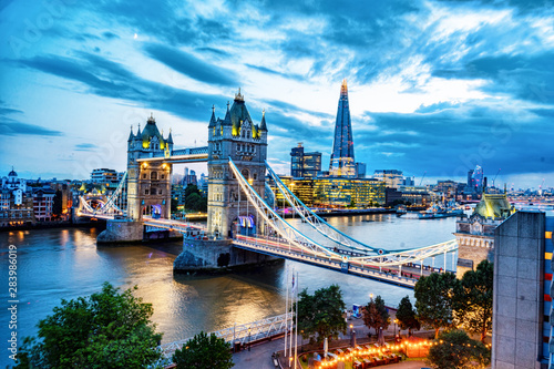 Canvas Print Tower Bridge In London