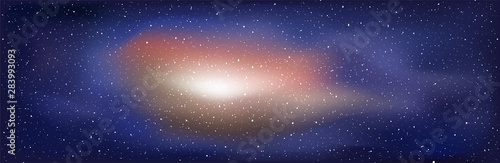 Fotografia universe light background