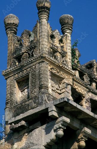 Платно Asia, India, Hyderabad. Ruins of Golconda Fort.