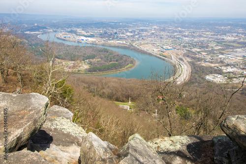 Vászonkép USA, Tennessee, Chattanooga, Lookout Mountain