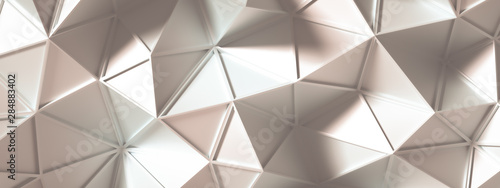 Naklejki na meble trójkątna abstrakcja 3d