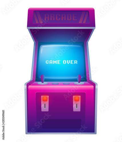 Leinwand Poster Arcade machine