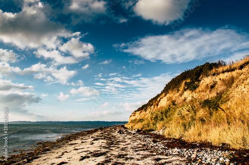 Photo Beach with Cliffs near Ebeltoft - Denmark - Jutland