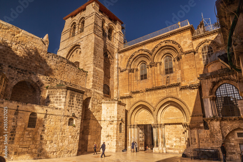 Canvas Print Church of the Holy Sepulchre in Jerusalem - Israel
