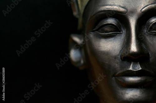 Close up of Ancient Egypt Queen Nefertiti, shallow depth of field Fototapet
