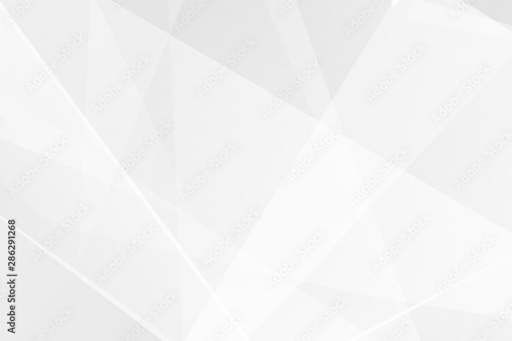 Streszczenie biały i szary na jasnym tle srebrny nowoczesny design. Wektorowa ilustracja EPS 10. <span>plik: #286291268 | autor: Yuriy</span>