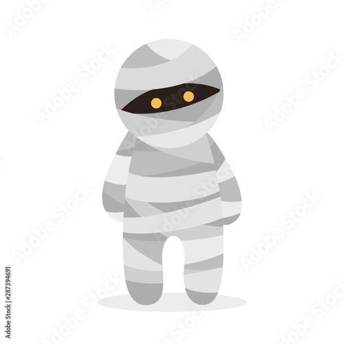 Halloween mummy icon Fototapet