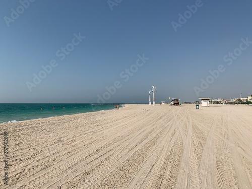 Fotografia Plage de Dubaï,  Émirats arabes unis