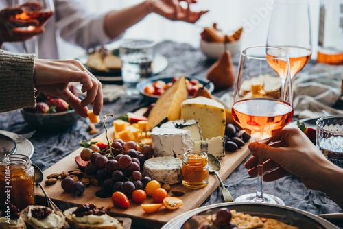 Fotografia, Obraz Dinner party