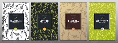 Fotografia Collection tea banners