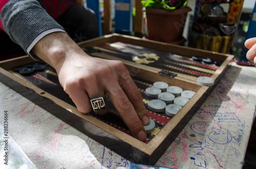 backgammon Fototapet