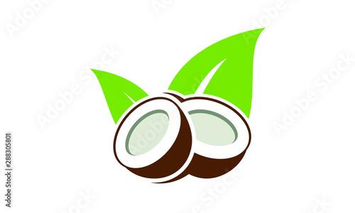 Fotografia Coconut oil logo