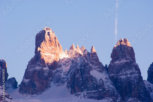 Fotografía High mountain of Dolomites in the north of Italy