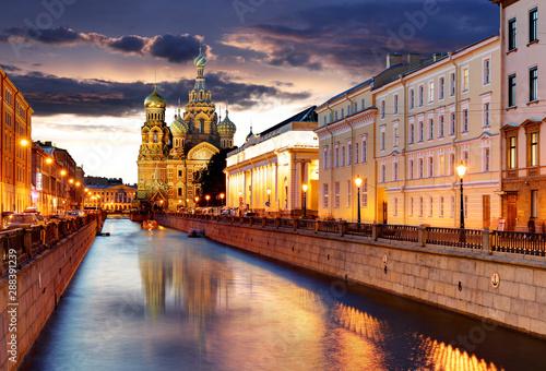 Fotografie, Obraz St. Petersburg - Church of the Saviour on Spilled Blood, Russia