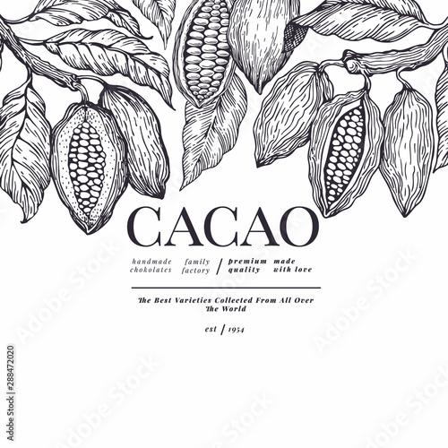 Fotografia Cocoa banner template