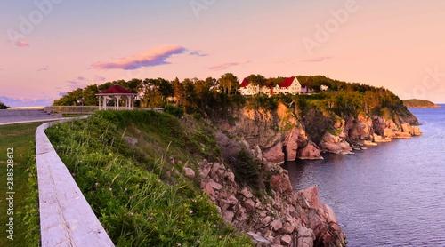 Photo The Keltic Lodge during sunset