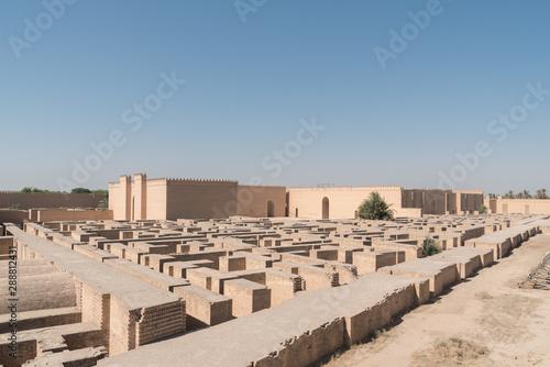 Cuadros en Lienzo Ancient Babylon, Hillah, Iraq