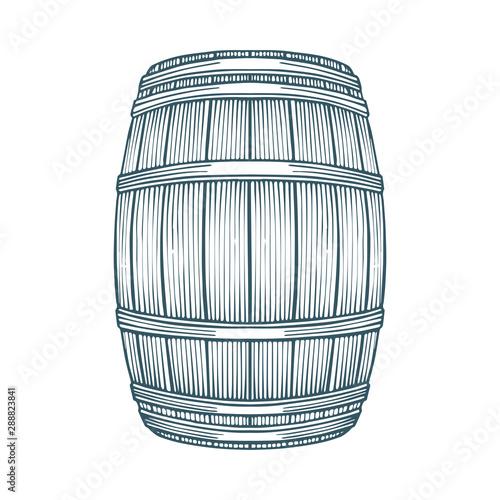 Leinwand Poster Barrel