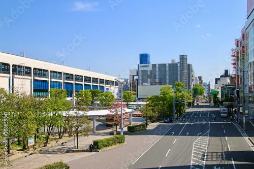 郡山駅前・西口(福島県・郡山市) Fototapete
