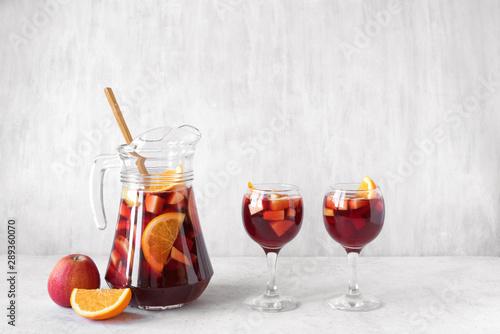Obraz na płótnie Red Wine Sangria
