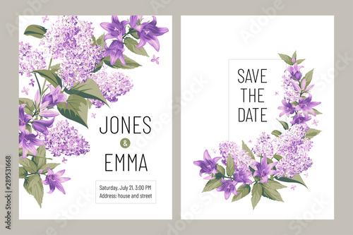 Valokuva Wedding invitation card