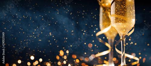 Billede på lærred Happy New Year