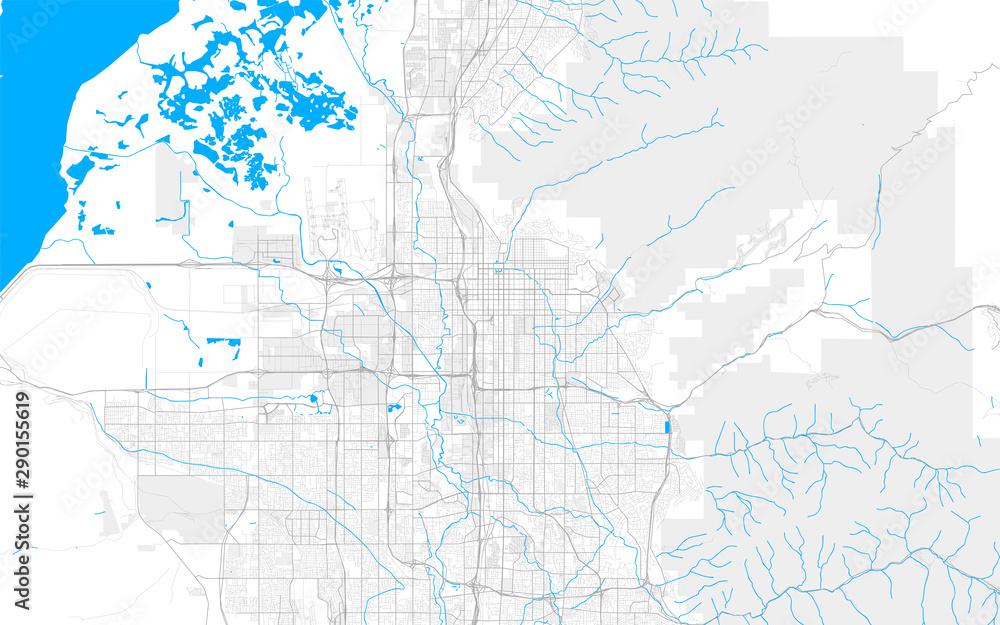 Bogata szczegółowa wektorowa mapa Salt Lake City, Utah, USA <span>plik: #290155619   autor: netsign</span>