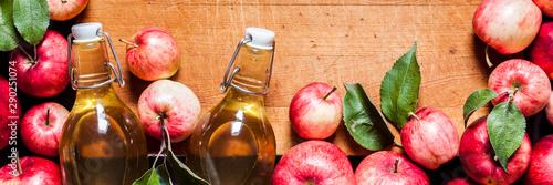 Fotografie, Tablou Red Apples and Cider