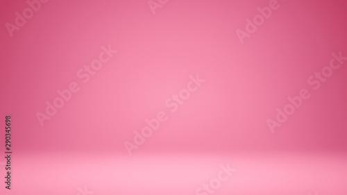 Foto 3D Illustration. Yellow seamless studio gradient background