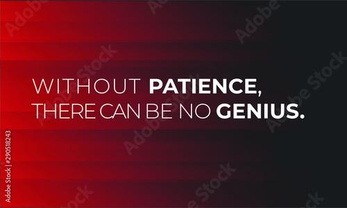 Fotografia Inspirational Motivation Quote for invitation, clothing design, postcard, banner, flyer, website, poster, placard