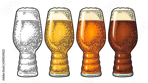 Fotografie, Obraz Beer Classics IPA Glas