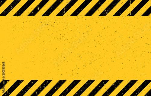 Fototapeta Warning background