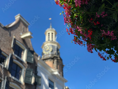Canvas Print Winehouse tower in Zutphen