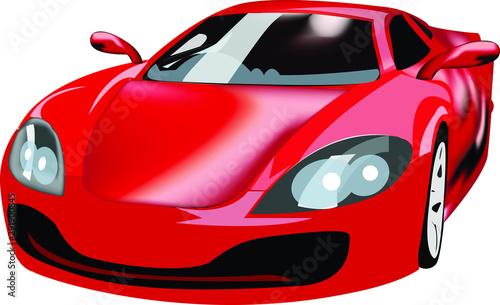 Photo Sports Car Vector